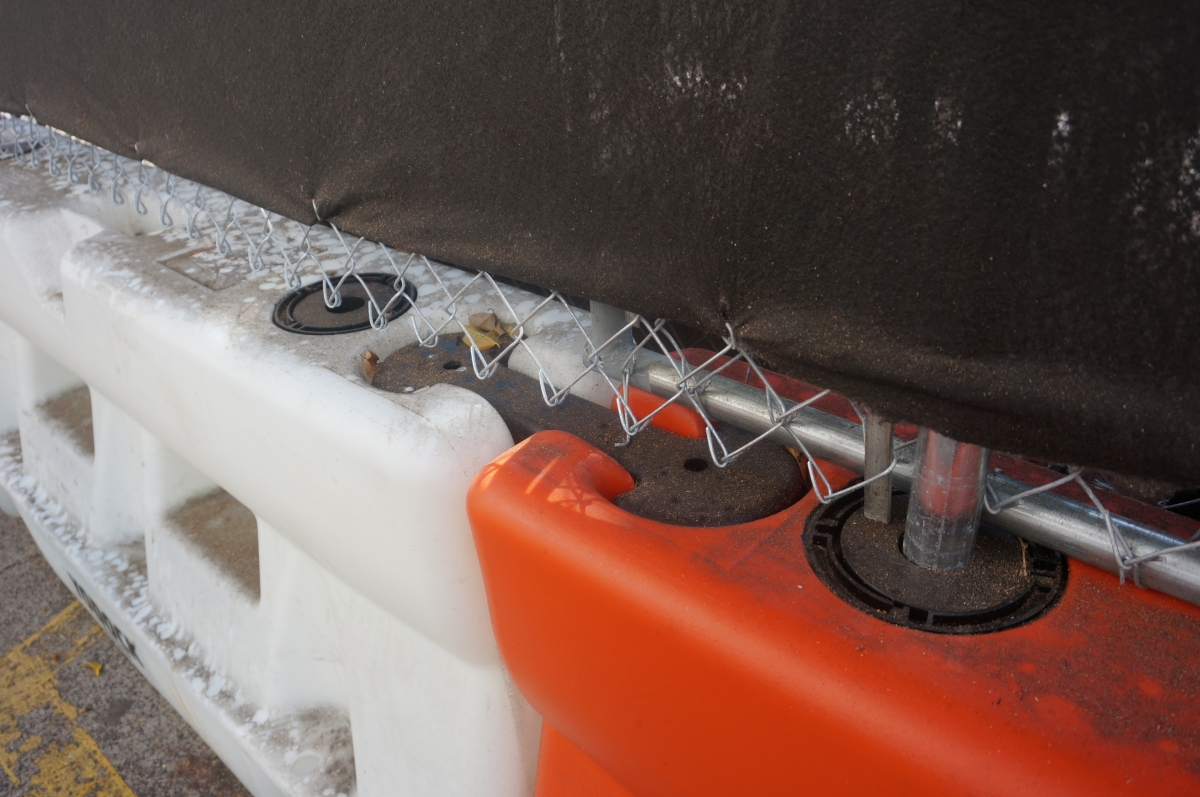 Portable Chain Link Fencing G P Roadway Solutions