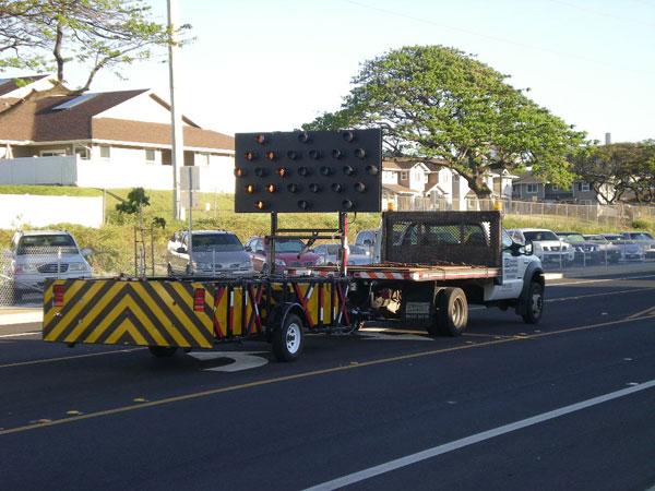 Sst Trailer Tma Truck Mounted Attenuator G P Roadway