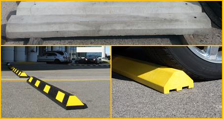 Parking Blocks Comparison Concrete Vs Recycled Plastic Vs