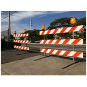 Barricades G P Roadway Solutions Honolulu Hawaii