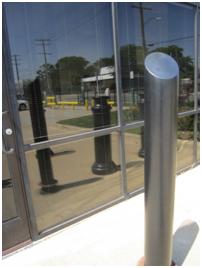 "6"" skyline decorative bollard covers | g p roadway solutions"